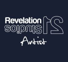 Revelation 21 Studios - Artist Series White Outline by dwanehollands