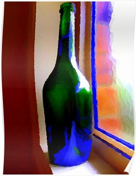 Wine Bottle by Chris  Butler