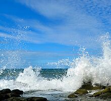 Breaking Wave. by Margaret Stevens