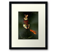Inner Pain © Framed Print