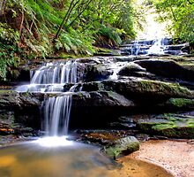 Leura Cascades by Paul Tait