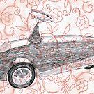 Toycar flowerpower by Goran Medjugorac
