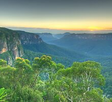 Wilderness - Grose Valley, Blue Mountains World Heritage Area, Sydney Australia - The HDR Experience by Philip Johnson