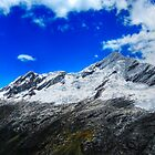 Snow Capped Cordillera Blanca, Peru by Clint Burkinshaw