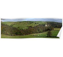 Manifold Valley from Weag's Barn Poster