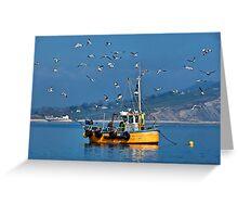 Slippery Dick ~ Lyme Regis Greeting Card
