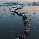 on Brighton beach by lukasdf