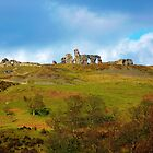 Castell Dinas Bran by artfulvistas