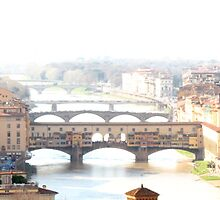 Water Colored (Florence, Italy) by Britland Tracy