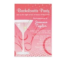 Bachelorette invitations by Buford Burows
