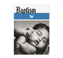 Baptism announcements by Wahlex