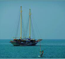 Schip an Sail by Janone