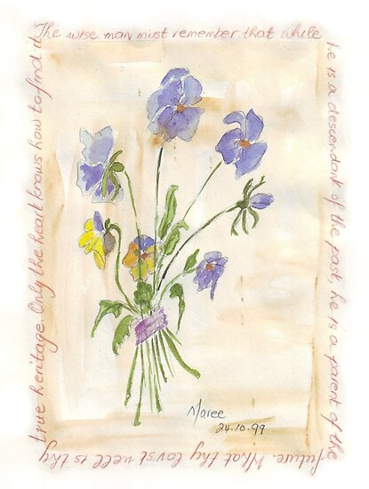 Viola oderata, oh sweet Violet! by Maree  Clarkson