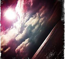 Sunshine through the clouds -  Series No.6 by LJ_©BlaKbird Photography