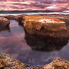 Roadknight Reflection,Great Ocean Road,Australia. by Darryl Fowler