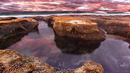 Roadknight Reflection,Great Ocean Road,Australia. by Darryl Fowler