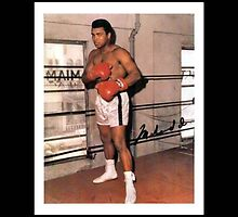 Ali - the greatest signed by Jamie McCaffery