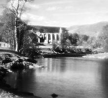 Bolton Abbey and the River Wharfe, Yorkshire by Alison Frost