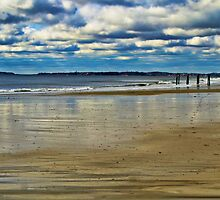 Beach Scene by john forrant