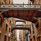The Maze Of Bridges And Warehouses by Graham Ettridge