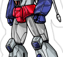 Starscream With Title Sticker