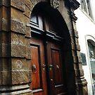 Door in Old Prague by ASSA