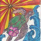 E- Turtle Sunshine by kellaybaybay