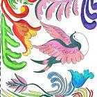 Trippy Chirpy by kellaybaybay
