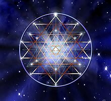 Sacred Geometry 32 by Endre
