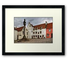 Cross and Study Framed Print
