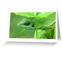 Blend In Greeting Card