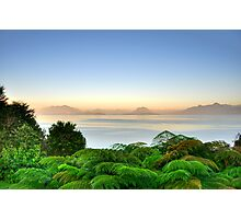 Lake Lago Ranco Chile Photographic Print