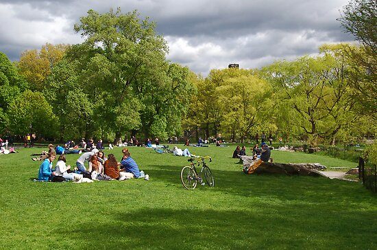 Sunday in Central Park by chamarbe