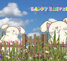 Easter Garden by Maria Dryfhout