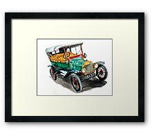 1915 Model T Ford Framed Print