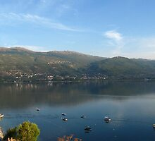 Lake Ohrid in September by Maria1606