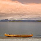 Canoe at Duck Bay Overlooking Loch Lomond by ScottishVet