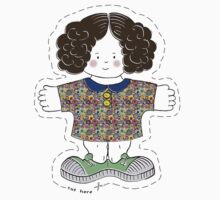 Rag Doll Nellie by Wendy Howarth