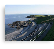 Seawall Canvas Print