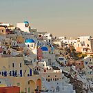 Sunset in Oia by Annbjørg  Næss