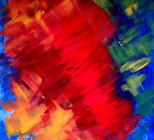 ABSTRACT PRIMARY COLOURS by jvicic
