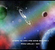 Where No Man Has Gone Before 2 by Andrew Wells
