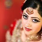 Traditional Pakistani Bride by naureen bokhari