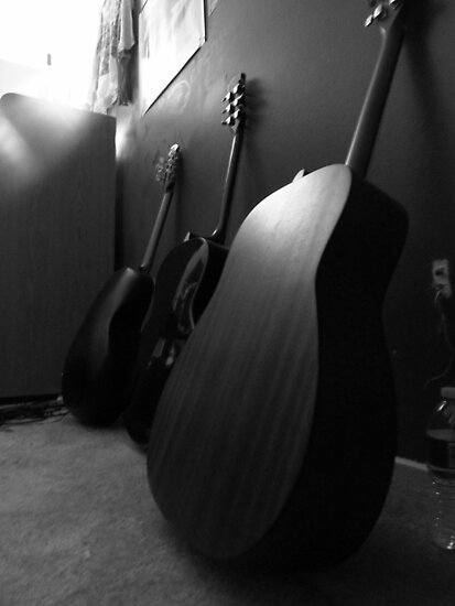 Guitars by Jessica Ponce