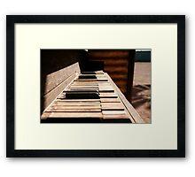 Goldrush Music Framed Print