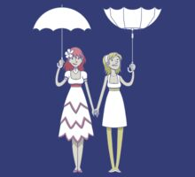 Girl un Girl - In/Out Umbrella by citizentang