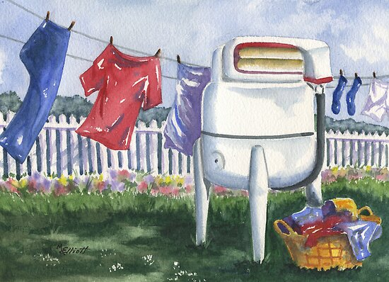 Wash Day Blues by Marsha Elliott