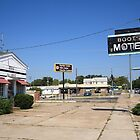 Route 66 - Boots Motel by Frank Romeo