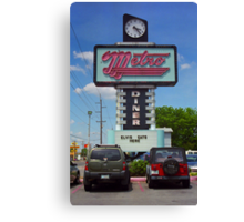 Route 66 - Metro Diner Canvas Print