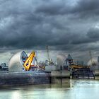 Thames Barrier HDR by John Hare